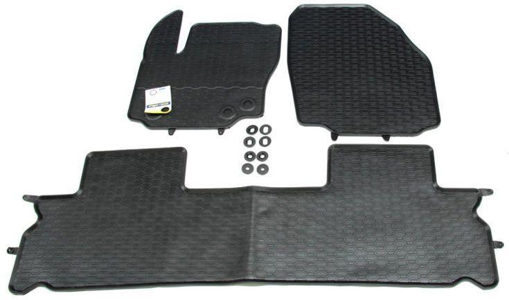 wykładziny / dywaniki podłogi gumowe S-Max Galaxy - 5 os.