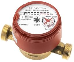 Wodomierz do ciepłej wody Bmeters GSD8-I 1/2 R100