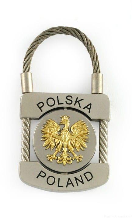 Brelok kłódka - Polska