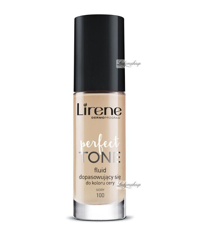 Lirene - PERFECT TONE - Fluid dopasowujący się do koloru cery - 100 - IVORY