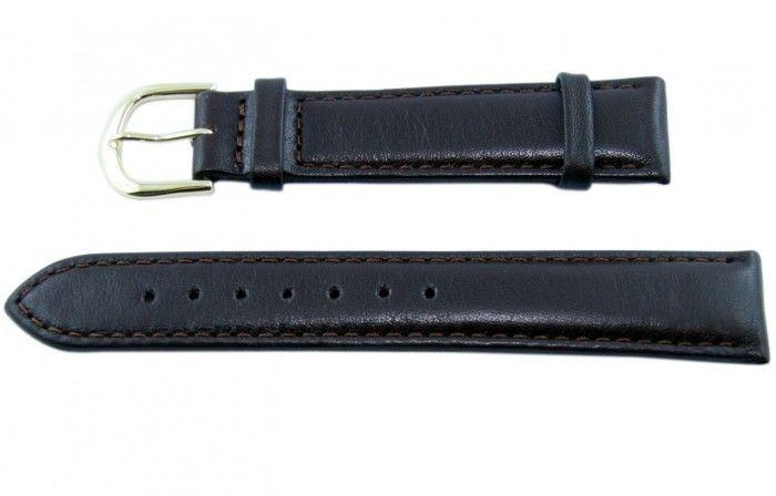 Pasek BISSET BS107 12mm brązowy