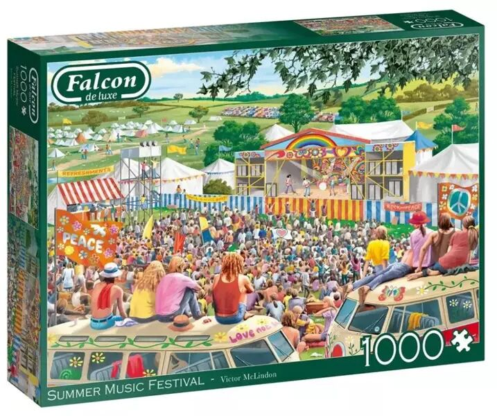 Puzzle 1000 Falcon Letni festiwal muzyczny G3 - Jumbo