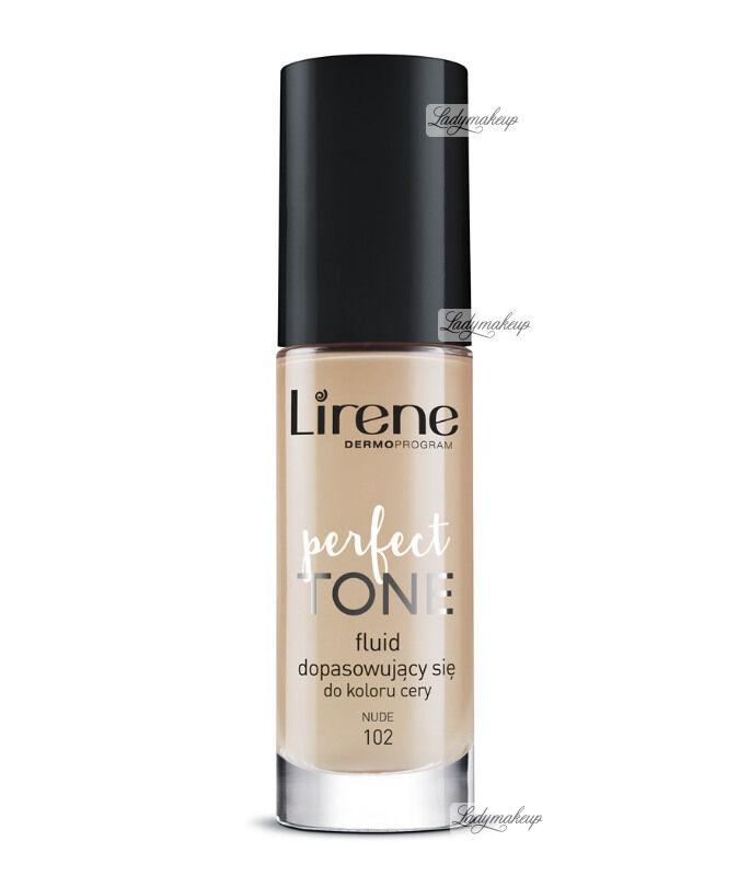 Lirene - PERFECT TONE - Fluid dopasowujący się do koloru cery - 102 - NUDE