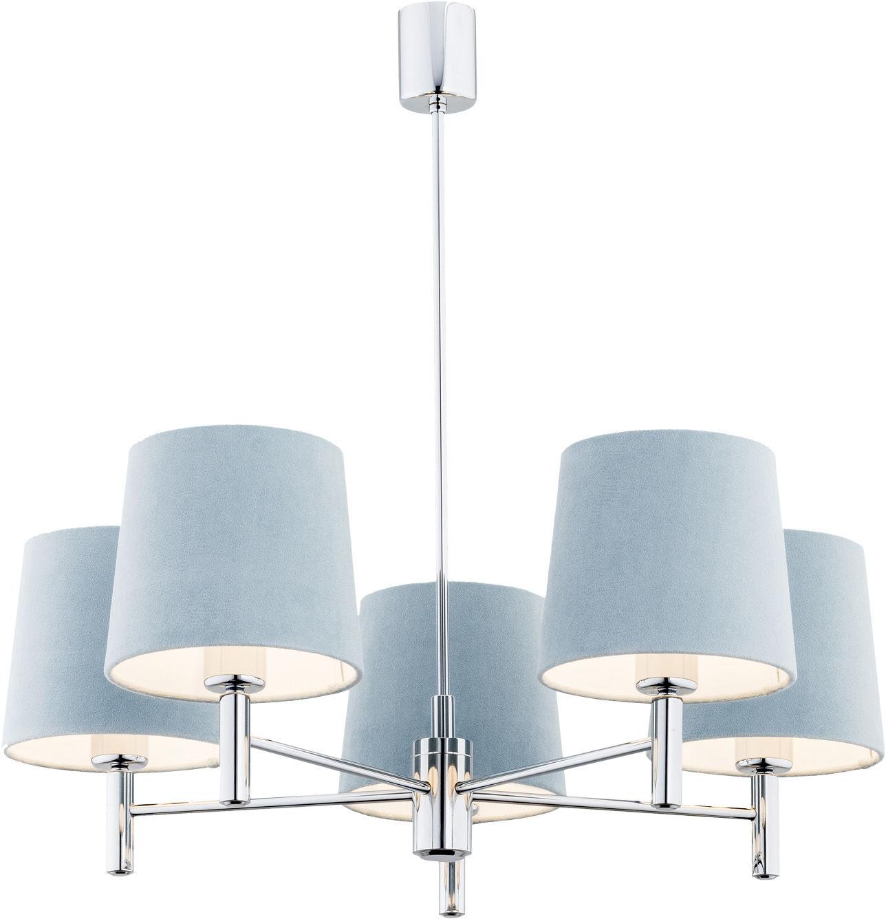 Żyrandol lampa BOLZANO błękitny 2076 - ArgonX  SPRAWDŹ RABATY  5-10-15-20 % w koszyku