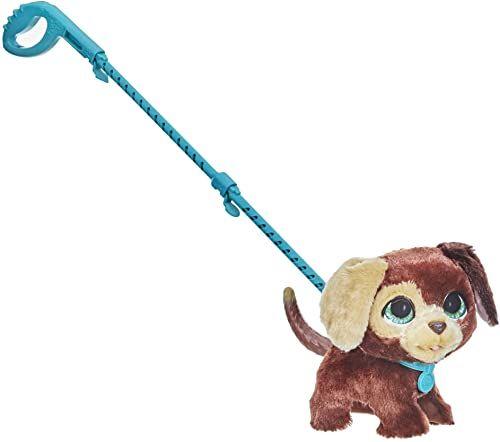 furReal Walkalots Big Wags, interaktywna zabawka Piesek, zabawne odgłosy zwierzęce i skoczny chód, dla dzieci w wieku od 4 lat