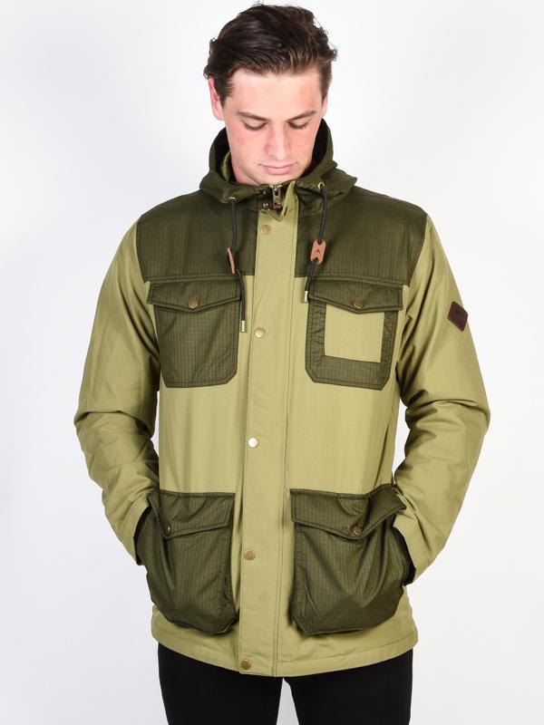 Burton MATCH OLVBRH/FRSTNT mens kurtka zimowa - L
