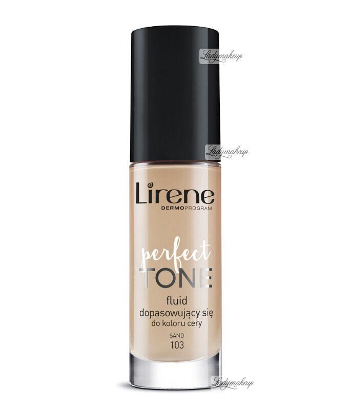 Lirene - PERFECT TONE - Fluid dopasowujący się do koloru cery - 103 - SAND