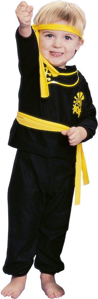 Rubie''s 11714-T kostium ninja dla dzieci, 1-2 lata