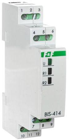 Przekaźnik impulsowy sekwencyjny 1P 24V AC/DC 8A BIS-414-24V