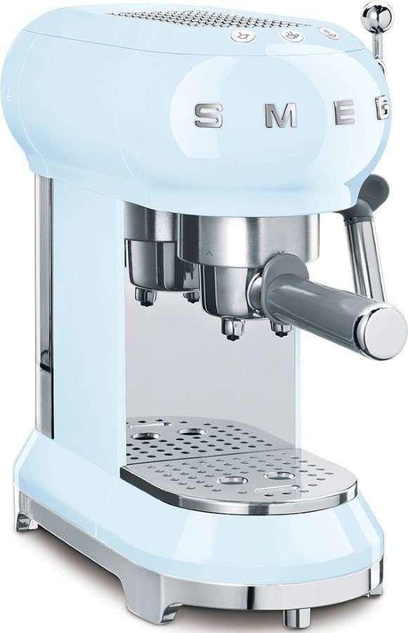 Smeg - Ekspres do kawy 50''s Retro Style ECF01PBEU Pastelowy Błękit - -5% Z KODEM SMEG