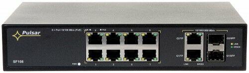 Switch PoE 10-PORTOWY SF-108 +SFP PULSAR