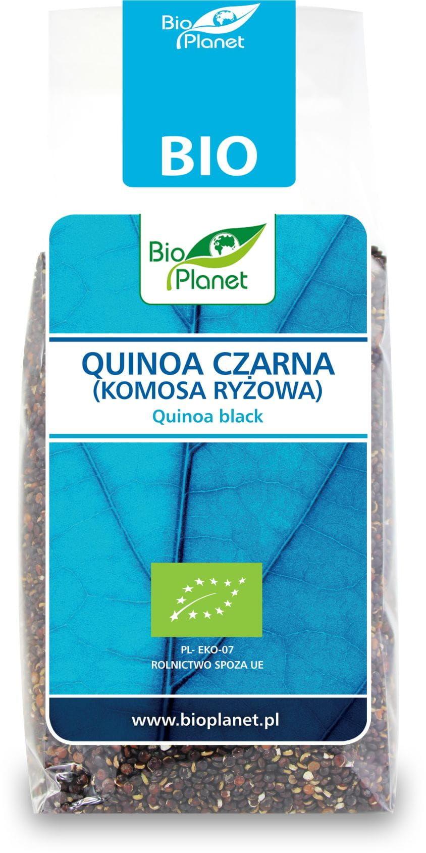 Quinoa czarna komosa ryżowa bio 250 g - bio planet