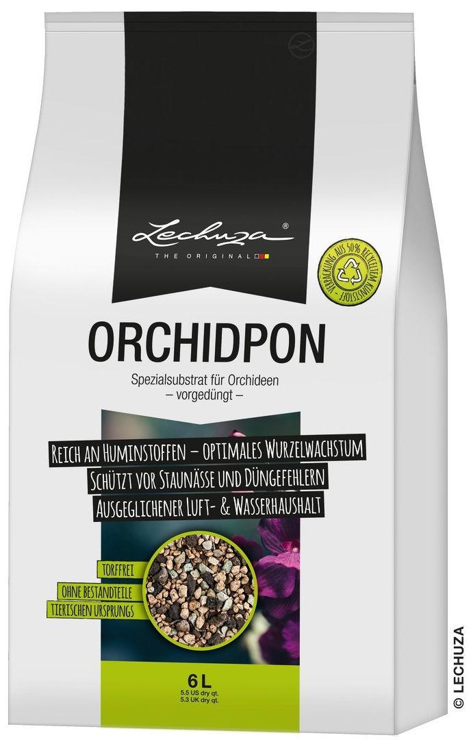Podłoże do storczyków Lechuza ORCHIDPON 6 litrów