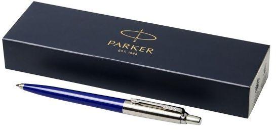 Długopis Parker Jotter z Twoim grawerem + pudełko prezentowe (niebieski)
