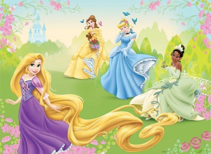 Fototapeta księżniczki princess disney roszpunka