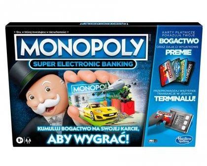 Hasbro Monopoly Super Elektronic Banking E8978