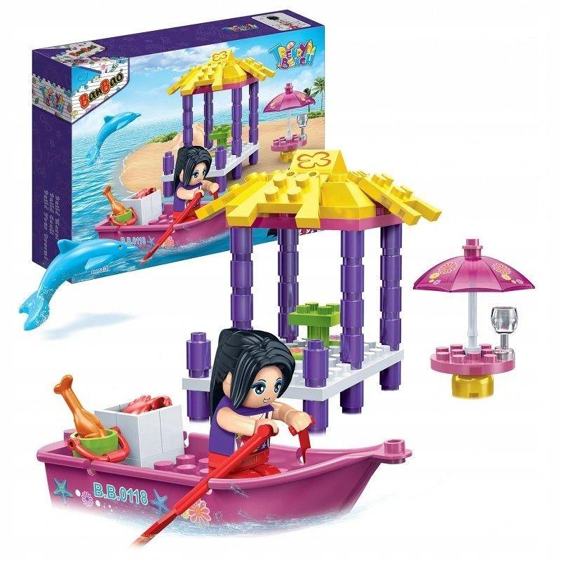 Klocki BanBao 6133 Jessica i super łódź