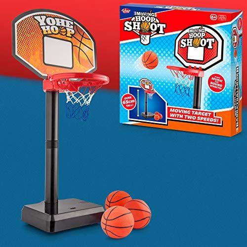 Tobar 36170 mobilny kosz do koszykówki, czerwony