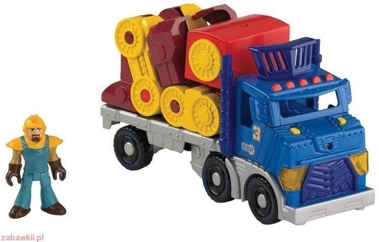 Fisher Price Imaginext Wielka Ciężarówka I Robot Bdy42