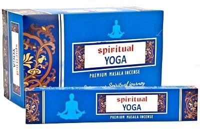 Kadzidełka Yoga Masala Pyłkowe Spiritual 15g