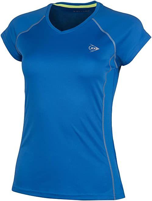 Dunlop Club Line Ladies Crew Tee Club Line Ladies Crew Tee niebieski niebieski (Royal Blau) M