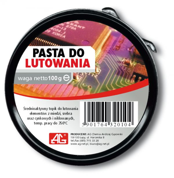 CHE1405 Pasta lutownicza 100g AG