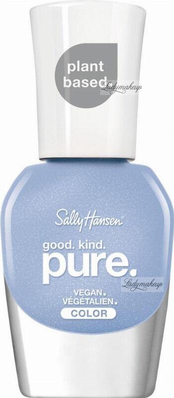 Sally Hansen - Good. Kind. Pure. Vegan Color - Wegański lakier do paznokci - 10 ml - 370 CRYSTAL BLUE