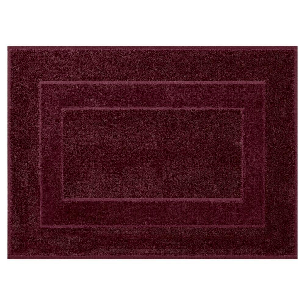 Dywanik łazienkowy 60x90 Lucy 08 bordowy bawełniany 650g/m2 Eurofirany
