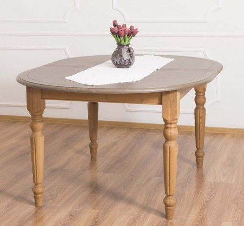 Stół owalny rozkładany 160x120