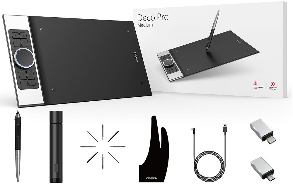 Tablet graficzny XP-Pen Deco Pro S