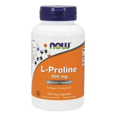 L-Proline 500 mg 120veg caps