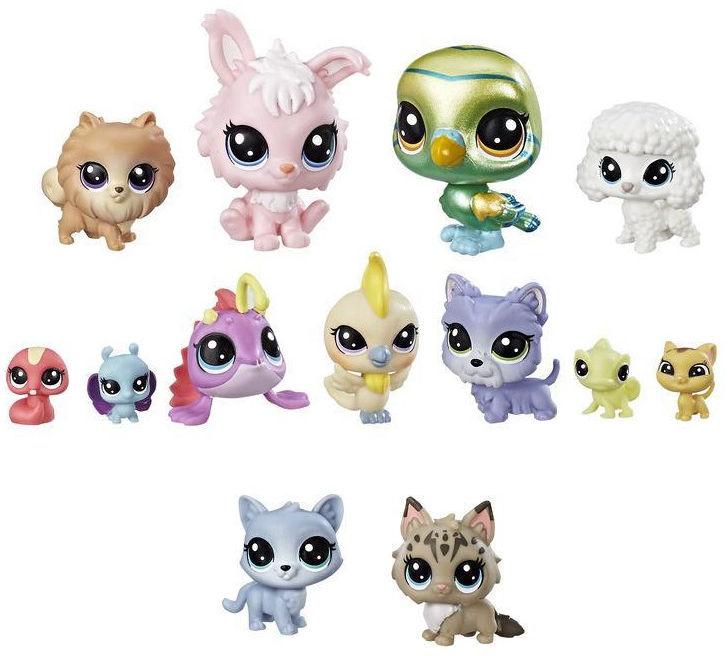 Littlest Pet Shop - Kolekcja 13 zwierzaków Zwycięska Drużyna E1012