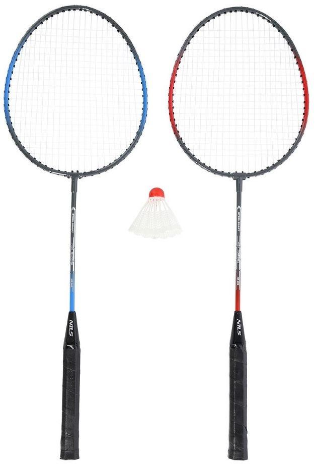 Zestaw badminton Nils NR002 2 rakietki + lotka