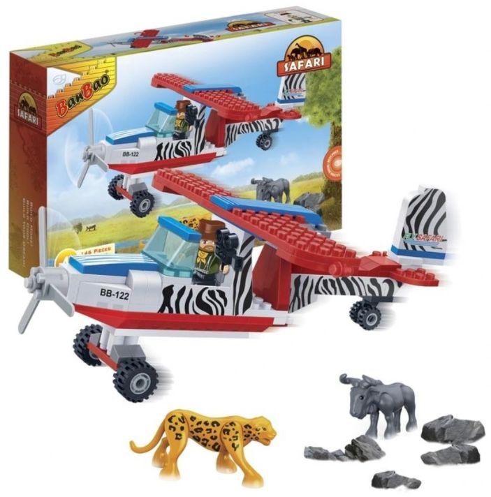 Klocki BanBao 6660 Safari Samolot