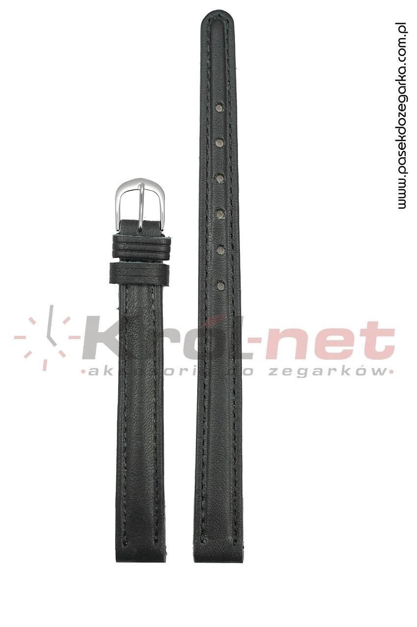 Pasek do zegarka PL2/10 - czarny, gładki