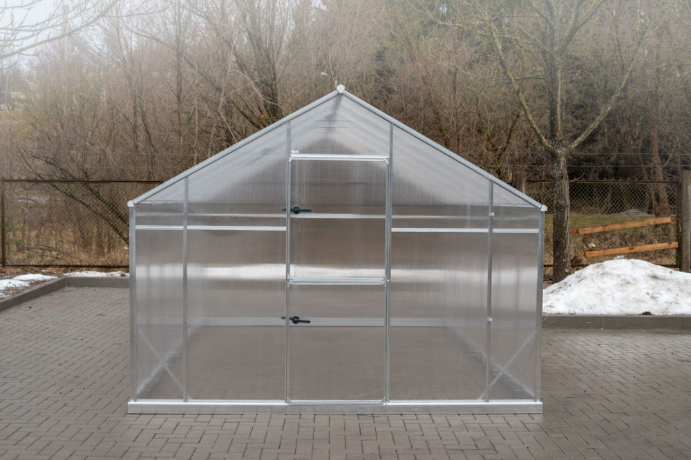 Szklarnia Sanus XL-4 wymiar 2,9x1,4m H=2,25m 4,06m2 poliwęglan 6mm