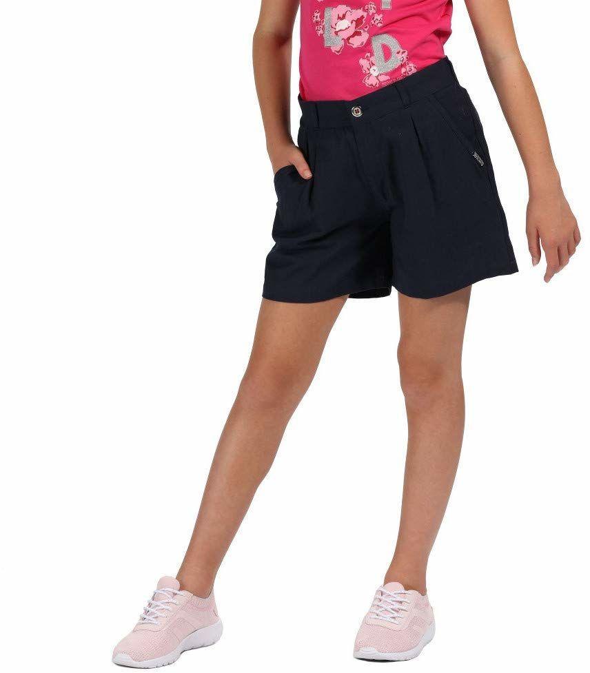 Regatta Dziecięca Damita Coolweave Bawełna Vintage Look Szorty granatowy 3-4 Years