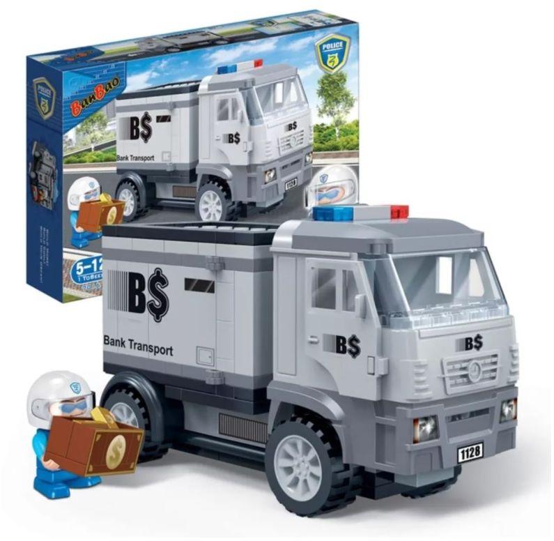 Klocki BanBao 7016 Samochód do transportu gotówki