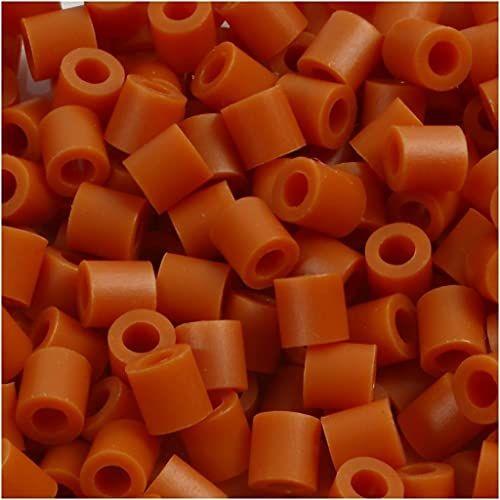 Nabbi Koraliki topiące ~Ø 5 x wys. 5 mm 1,100 szt. karmel #5, 1100 sztuk