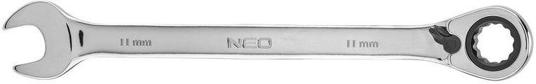 Klucz płasko-oczkowy z grzechotką i przełącznikiem 11mm 09-323