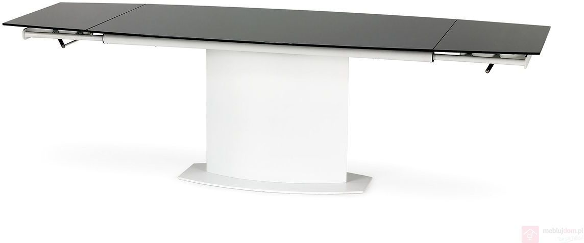 KUPON 10% NA STRONIE  Stół ANDERSON Halmar Czarno-biały