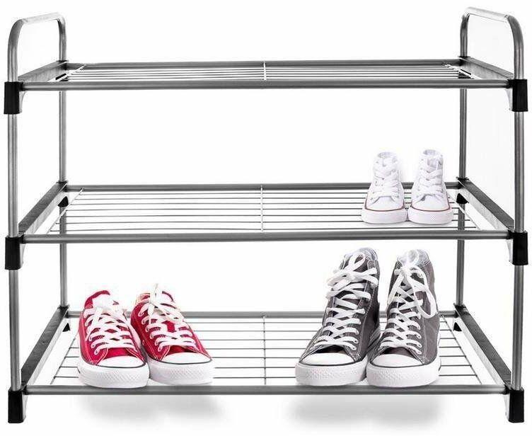 Regał PÓŁKA szafka organizer stojak na buty 3 poziomy piętrowy