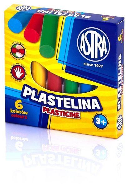 Plastelina Astra, opakowanie 6 kolorów -  Rabaty  Porady  Hurt  Autoryzowana dystrybucja  Szybka dostawa