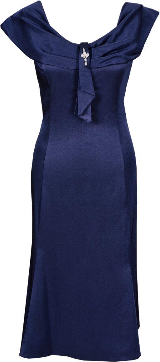 Sukienka FSU192 GRANATOWY