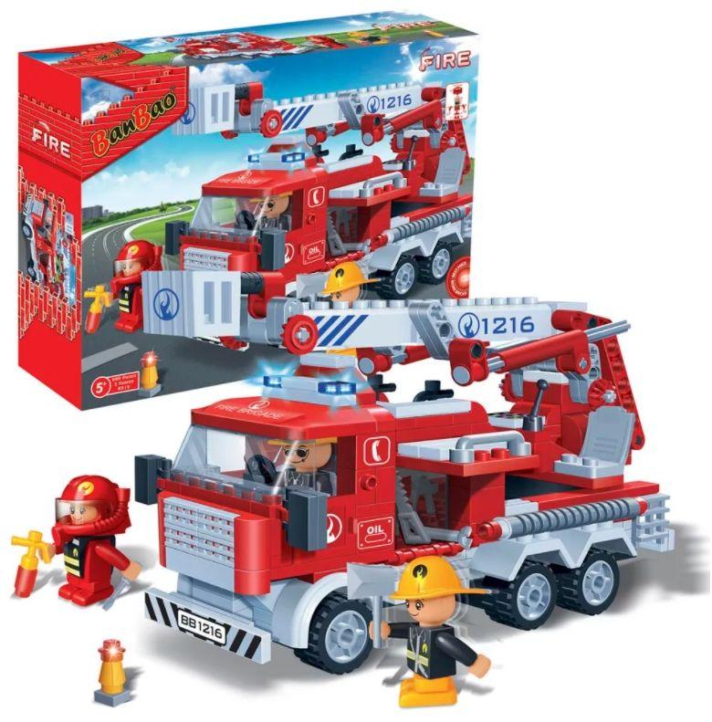 Klocki BanBao 8313 Wóz strażacki