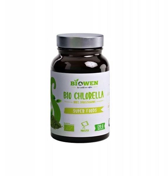 Bio Chlorella 120g BIOWEN DETOKSYKACJA