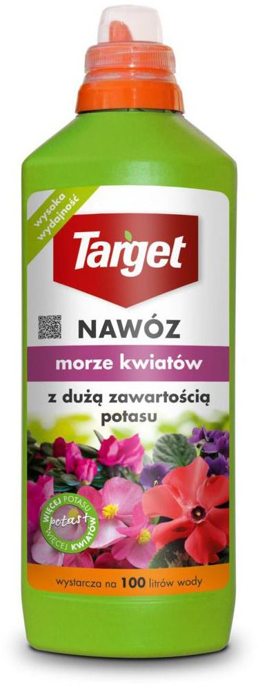 Nawóz do roślin kwitnących MORZE KWIATÓW 1 l TARGET