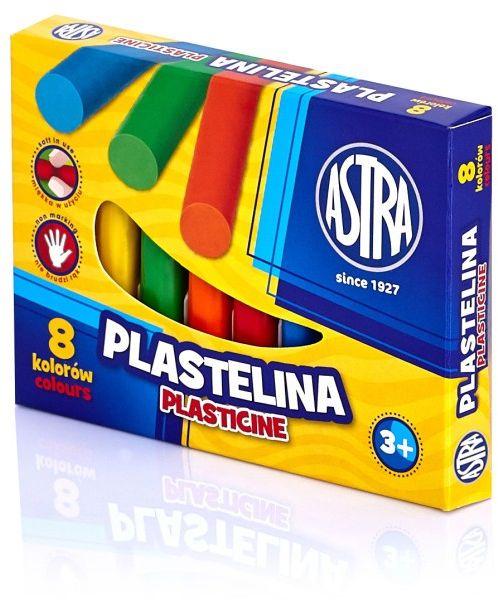 Plastelina Astra 8 kolorów -  Rabaty  Porady  Hurt  Autoryzowana dystrybucja  Szybka dostawa