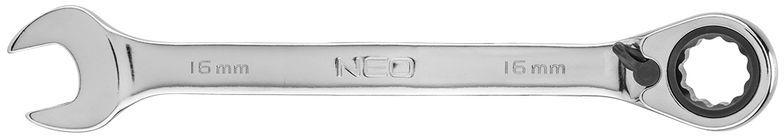 Klucz płasko-oczkowy z grzechotką i przełącznikiem 16mm 09-328