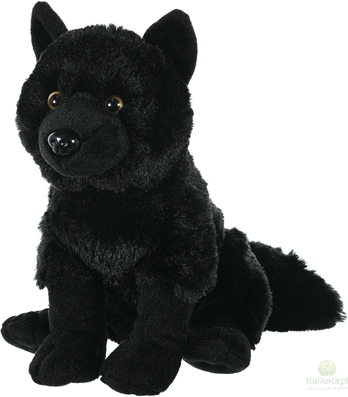 Wolf black - Wild Republic - czarny wilk maskotka pluszowa